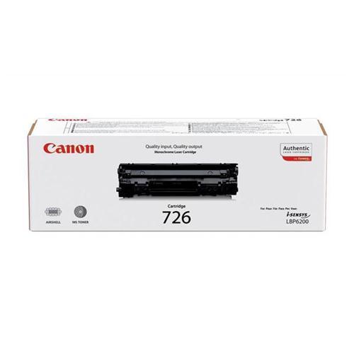 Canon CRG-726 Laser Toner Cartridge Page Life 2100pp Black Ref 3483B002AA   347432