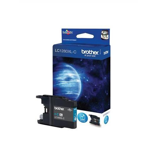 Brother Inkjet Cartridge High Yield Page Life 1200pp Cyan Ref LC1280XLC | 348752