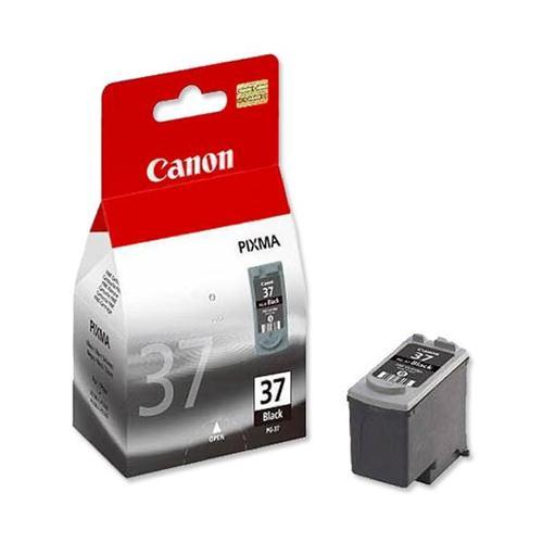 Canon PG-37 Inkjet Cartridge Page Life 220pp Black Ref 2145B001   474184