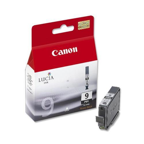 Canon PGI-9PBK Inkjet Cartridge Page Life 3325pp Photo Black Ref 1034B001   592708