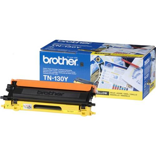 Brother Laser Toner Cartridge Page Life 1500pp Yellow Ref TN130Y   718570