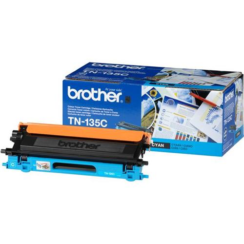 Brother Laser Toner Cartridge Page Life 4000pp Cyan Ref TN135C   718596