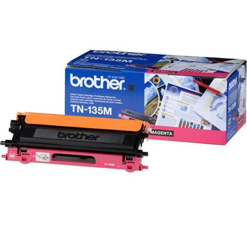 Brother Laser Toner Cartridge Page Life 4000pp Magenta Ref TN135M   718601