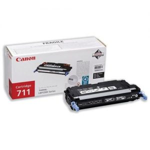 Canon 711B Laser Toner Cartridge Page Life 6000pp Black [for LBP-5360] Ref 1660B002 | 754671