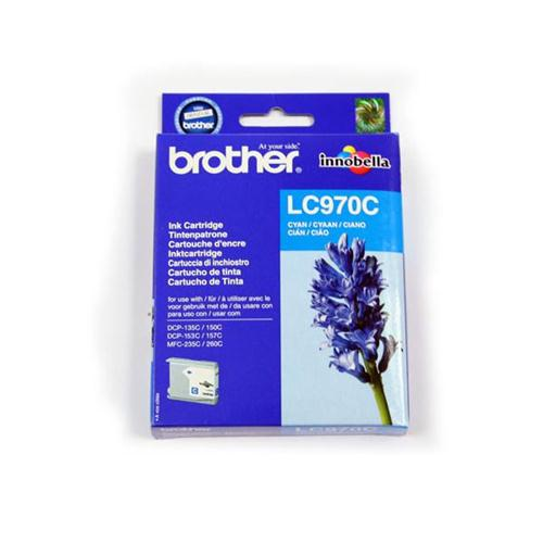 Brother Inkjet Cartridge Page Life 300pp Cyan Ref LC970C   780506