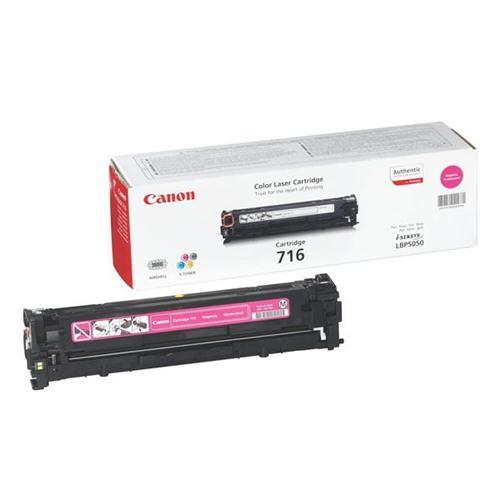 Canon 716M Laser Toner Cartridge Page Life 1500pp Magenta [for LBP5050/5050n] Ref 1978B002 | 829931