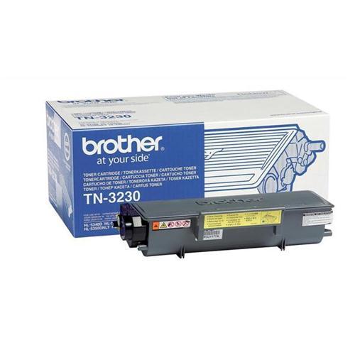 Brother Laser Toner Cartridge Page Life 3000pp Black Ref TN3230   872813