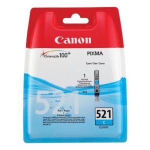 Canon CLI-521C Inkjet Cartridge Cyan Ref 2934B001AA | 875038