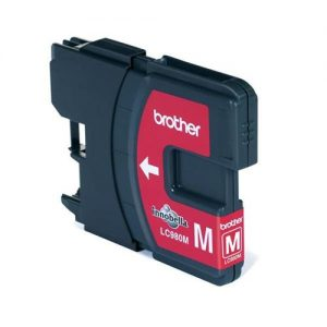 Brother Inkjet Cartridge Page Life 260pp Magenta Ref LC980M | 875143