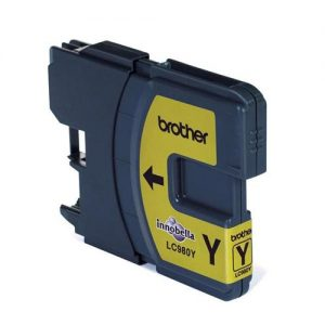 Brother Inkjet Cartridge Page Life 260pp Yellow Ref LC980Y   875151