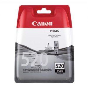 Canon PGI-520BK Inkjet Cartridge 19ml Page Life 324pp Black Ref 2932B001 | 877698