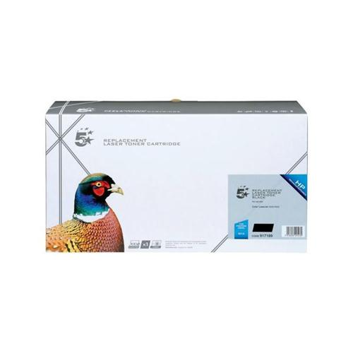 5 Star Office Remanufactured Laser Toner Cartridge 9000pp Black [HP No. 641A C9720A Alternative]   917189