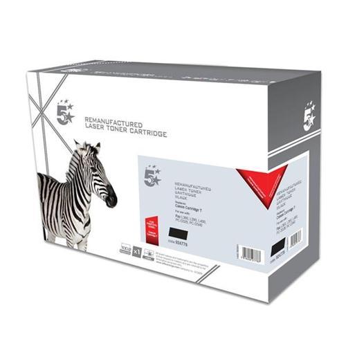 5 Star Office Remanufactured Fax Toner Cartridge Page Life 3500p Black [Canon FX8 CRG T Alternative]   924778