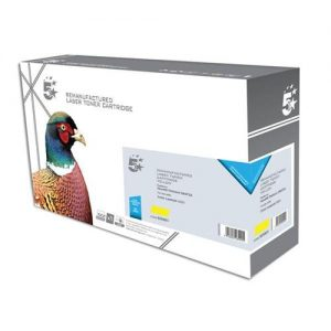 5 Star Office Remanufactured Laser Toner Cartridge 4000pp Yellow [HP No. 502A Q6472A Alternative] | 925951
