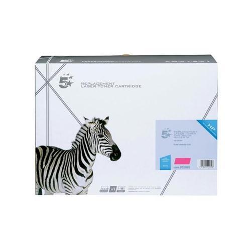 5 Star Office Remanufactured Laser Toner Cartridge 10000pp Magenta [HP No. 643A Q5953A Alternative]   925985