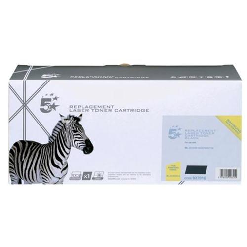5 Star Office Remanufactured Laser Toner Cartridge Page Life 3000pp Black [Samsung ML2010D3 Alternative] | 927016