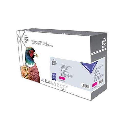 5 Star Office Remanufactured Laser Toner Cartridge Page Life 4000pp Magenta [Brother TN135M Alternative]   929097