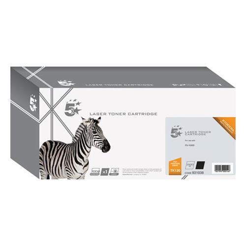 5 Star Office Remanufactured Laser Toner Cartridge Page Life 12000pp Black [Kyocera TK-120 Alternative] | 931038