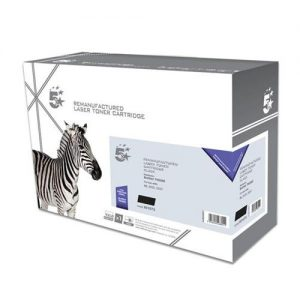 5 Star Office Remanufactured Laser Toner Cartridge Page Life 1500pp Black [Brother TN2005 Alternative]   931073