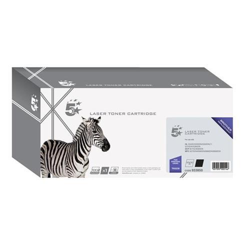 5 Star Office Remanufactured Laser Toner Cartridge Page Life 3000pp Black [Brother TN3230 Alternative] | 932850