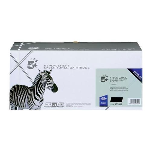 5 Star Office Remanufactured Laser Toner Cartridge Page Life 2600pp Black [Brother TN2220 Alternative]   933317