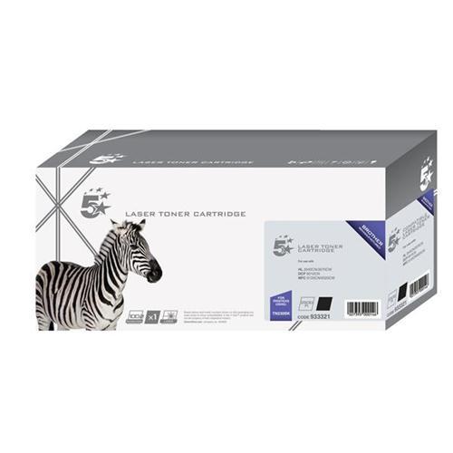 5 Star Office Remanufactured Laser Toner Cartridge Page Life 2200pp Black [Brother TN230BK Alternative]   933321