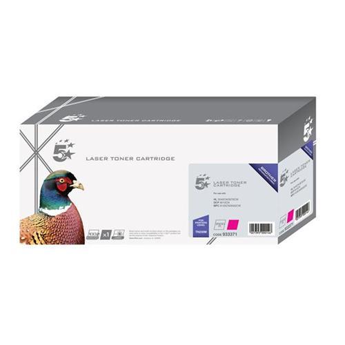 5 Star Office Remanufactured Laser Toner Cartridge Page Life 1400pp Magenta [Brother TN230M Alternative]   933371