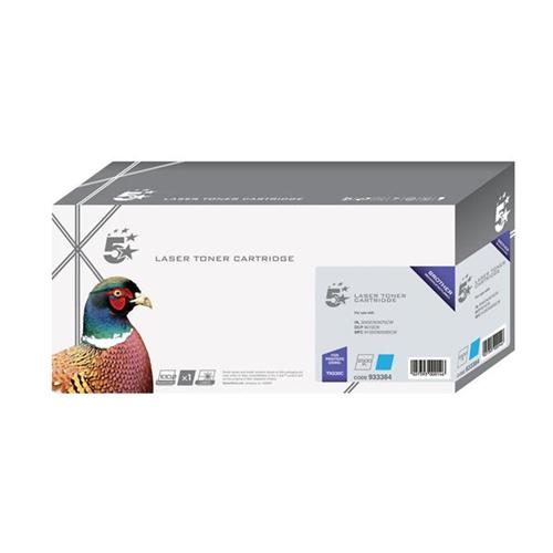 5 Star Office Remanufactured Laser Toner Cartridge Page Life 1400pp Cyan [Brother TN230C Alternative]   933384