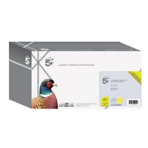 5 Star Office Remanufactured Laser Toner Cartridge 1000pp Yellow [Samsung CLT-Y4072S Alternative] | 933511