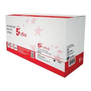 5 Star Office Remanufactured Laser Toner Cartridge Page Life 4000pp Black [Brother TN325BK Alternative]   934525