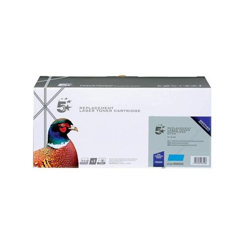 5 Star Office Remanufactured Laser Toner Cartridge Page Life 4000pp Cyan [Brother TN325C Alternative]   934533