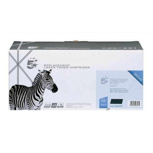 5 Star Office Remanufactured Laser Toner Cartridge Page Life 1200pp Black [Brother TN2210 Alternative]   934570