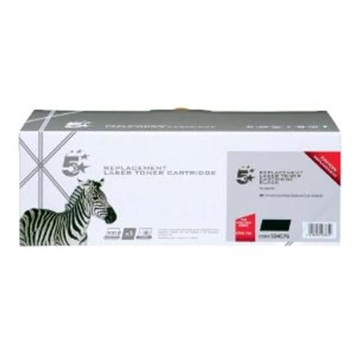 5 Star Office Remanufactured Fax Toner Cartridge 2100p Black [Canon CRG728 3500B002 Alternative] | 934576