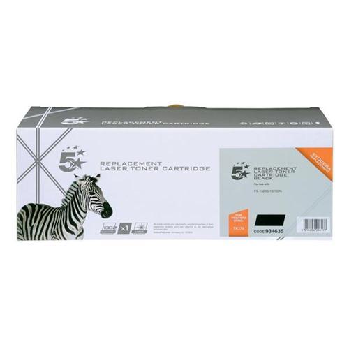 5 Star Office Remanufactured Laser Toner Cartridge Page Life 7200pp Black [Kyocera TK-170 Alternative] | 934635