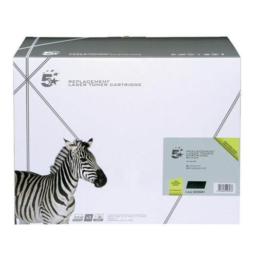 5 Star Office Remanufactured Laser Toner Cartridge Life 1500pp Black [Samsung MLT-D205L/ELS Alternative]   934681