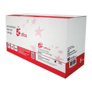 5 Star Office Remanufactured Laser Toner Cartridge 4000pp Black [HP No. 12A Q2612X Alternative] | 935628