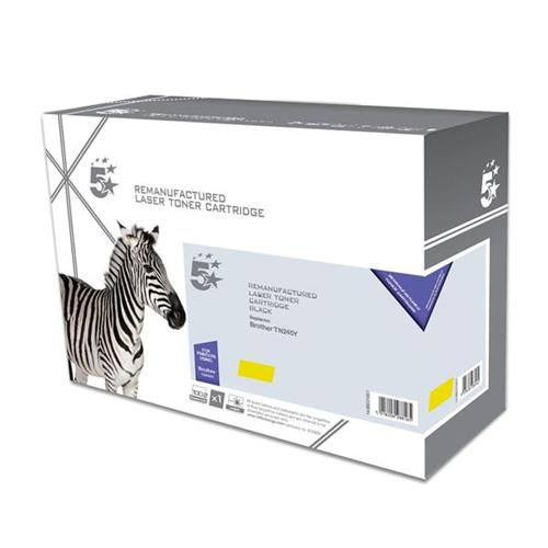 5 Star Office Remanufactured Laser Toner Cartridge Page Life 2200pp [Brother TN245Y Alternative] Yellow | 938330