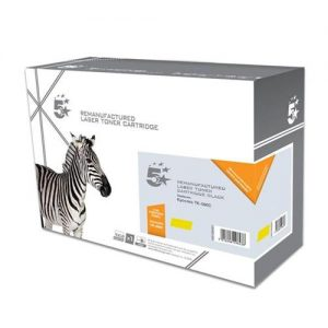 5 Star Office Remanufactured Laser Toner Cartridge Page Life 5000pp Yellow [Kyocera TK-590Y Alternative] | 938350