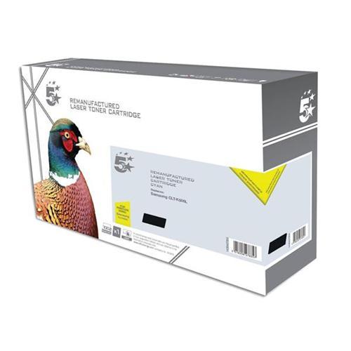 5 Star Office Remanufactured Laser Toner Cartridge Page Life 2000pp Black [Samsung CLT-K506 Alternative] | 938357