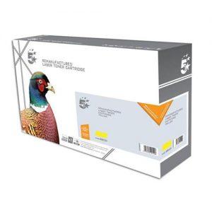 5 Star Office Remanufactured Laser Toner Cartridge 2800pp Yellow [Kyocera 1T02KTANL0 Alternative] | 939131