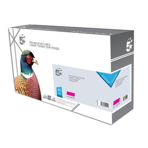 5 Star Office Remanufactured Laser Toner Cartridge Page Life 2700 Magenta [HP CF383A Alternative] | 939174