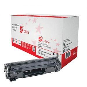 5 Star Office Remanufactured Laser Toner Cartridge 2200pp Black [HP No.83X CF283X HY Alternative] | 940518