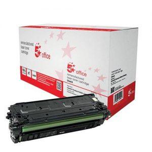 5 Star Office Remanufactured Laser Toner Cartridge 6000pp Black [HP No. 508A CF360A Alternative]   940607