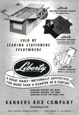 fellowes original storage box poster ad