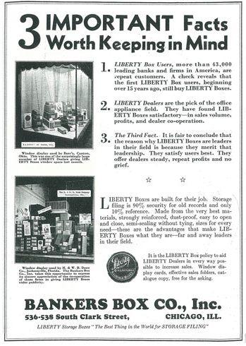 liberty file filing bankers storage box