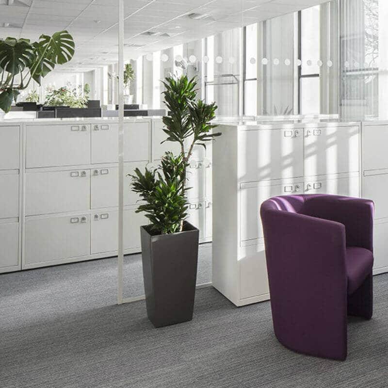 Bisley Filing Cabinets Grey