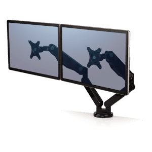 Looking for an Adjustable Monitor Arm? Try the Fellowes Dual 360 degree 1