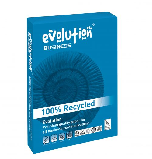 Evolution Business Paper FSC Recycled Ream wrapped 80gsm A4 White
