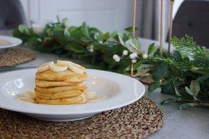 pancake day stack of pancakes