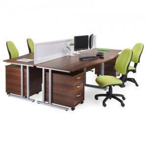 Desks With Screens
